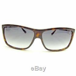 Used Authentic GUCCI Sunglasses Men Women Unisex Full Rim Black Brown Silver