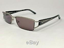 VALENTINO VAL5515 6LB Eyeglasses Frame Italy Half Rim 51-17-135 Silver/Grey HF98