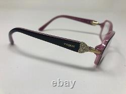 VOGUE VO2789-B 1941 Eyeglasses Frame Full Rim 52-16-135 Brown/Pink XL95