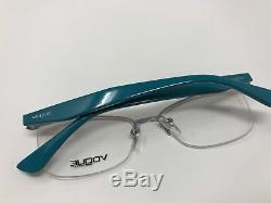 VOGUE VO3981 548 Women's Eyeglasses Frames 52-17-135 Half Rim Silver Teal EY51