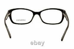Versace Eyeglasses VE3207 VE/3207 5131 Black/Silver Full Rim Optical Frame 52mm