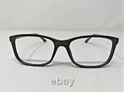 Vincent Chase Eyeglasses Frame VC E10654! C6 53-18-140 Gray/Silver Full Rim GN89
