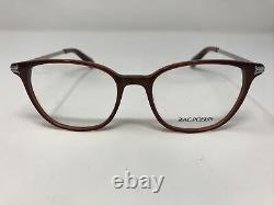 Zac Posen Eyeglasses Frames MARYSE RY Red Silver 50-17-140 Full Rim FI54