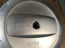 01-05 Oem Toyota Rav4 Rav-4 Hard Plastic Moyeu De Couverture De Pneus De Rechange Pour Jante En Acier