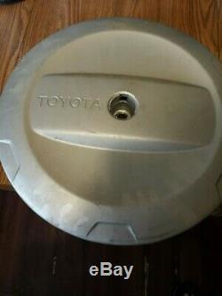 05.01 Toyota Rav4 Oem Rav-4 Plastic Couverture Rigide Pneu De Secours Enjoliveur Pour Jante En Acier