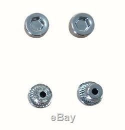 120 X Argent Chromé Plastique Roue Rivets Nuts Rim Remplacement Des Lèvres En Alliage Goujons J3