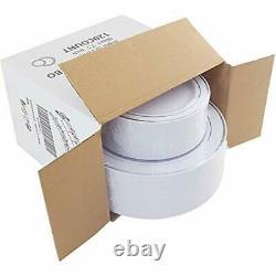 120pcs Argent Plaques En Plastique-rim Jetable- Fête De Mariage Incluant 60plastique