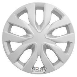 17 Jeu De 4 Enjoliveur Cerclée Snap On Enjoliveurs Adapter R17 Tire & Steel Wheels