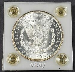 1884-cc 1 Dollar Morgan En Argent, Support En Plastique Pour Jante Ton Originale # J151
