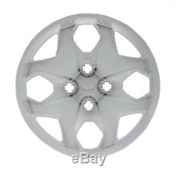 2011-2013 Ford Fiesta 15 Rim Steel Wheel Cover Hub Cap Oem Nouveau Véritable