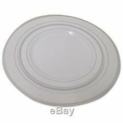 360 Pièces En Plastique Jetables Mariage Art De La Table De Vaisselle. Argent Rimmed