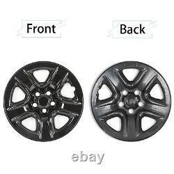 4 Noir 2006-2012 Toyota Rav4 17 Roues Skins Hub Capitales Rim Peau Covers Nouveau