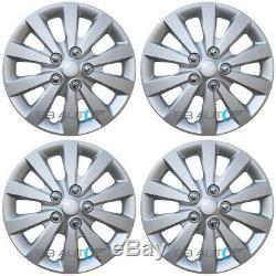 4 Nouveau 16 Argent Hubcaps Rim Enjoliveurs Set Pour 2013-2019 Nissan Sentra