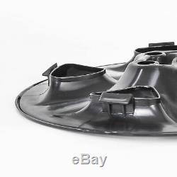 4 Pc Noir Pour 2006-12 Toyota Rav4 17 Roues Skins Hub Capitales Rim Couvre Peau