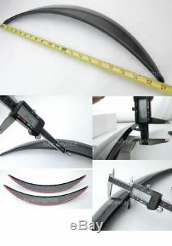 4 Pièces Argent Brillant 1 Diffuseur Large Fender Flares Extension Pour Honda Acura