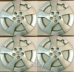 4x Remplacement 15 Hubcap Rim Wheel Cover Pour 2010 2011 Prius Hub Cap 61156