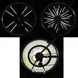 50x24pieces Bicycle Mountain Bike Riding Wheel Rim Spoke Mount Clip Tube