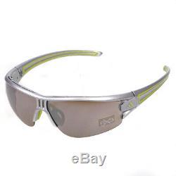 Adidas Evil Eye Half Rim L Lst Argent Sport Lunettes De Soleil Pour Homme A402 / 00 6058