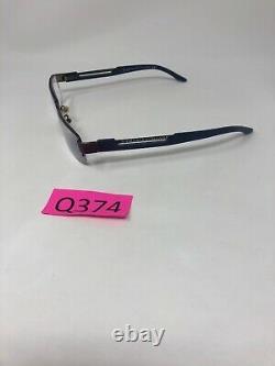 Armani Exchange Ax127 Lunettes Cadre Demi-jante 53-18-140 Silver Blue Q374