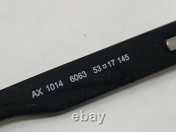 Armani Exchange Lunettes Cadre Ax 1014 6063 53-17-145 Black Half Rim Xx92