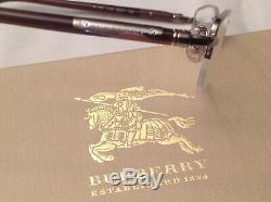 Burberry B1197 1110 52-17-135 Poli Brown & Silver Half Rim Lunettes