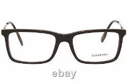 Burberry Harrington B-2339 3001 Lunettes De Vue Homme Noir/argent Full Rim 53mm