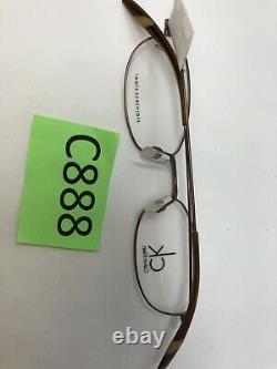 Calvin Klein Lunettes Cadre 5302 225 50-18-145 Brown Full Rim C888