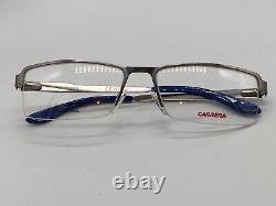 Carrera New Collection Ca 6631 Silver Half Rim Sports Cool 56-17 Moyen