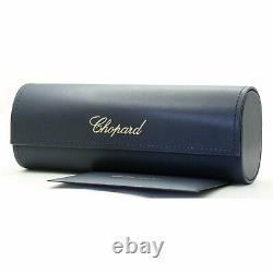 Chopard Schc20s 300g 99 MM Authentic Square Metal Lunettes De Soleil Pour Femmes Full Rim