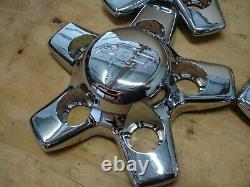 Chrome Zq8 Center Cap Set Chevy S10 Truck Blazer Factory 9593759 Roue De Jante 16 15
