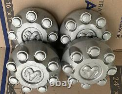 Dodge Ram 2500 3500 Oxy18paka 8 Lug Factory Oem Srw Silver Center Cap Cover Xa
