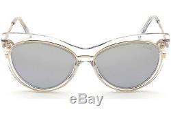 Emilio Pucci Ep 108 Effacer Or 27x Lunettes De Soleil Cat Eye Cadre 57-17-145 Ep0108