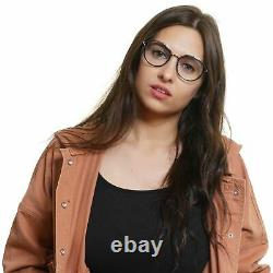 Emilio Pucci Ep5075 Femmes Argent Cadre Optique Plastique Full Rim Lunettes Rondes