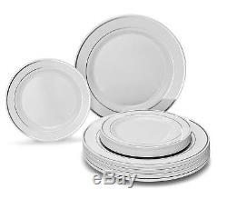 Ensemble De Plaques En Plastique Jetables De Première Qualité Occasions 120/240