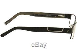 Fatheadz Amplitude Fh00186 Fh / 00186 Noir / Argent Cerclée Cadre Optique 58mm