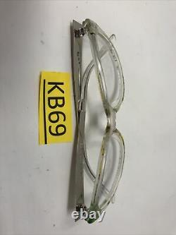 Gucci Lunettes Cadres Gg 3742 2g2 Clear Silver 53-16-140 Italie Full Rim Kb69
