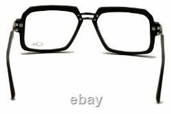 Lunettes De Vue Cazal 6004 002 Noir Mat/argent Cadres Optique Pleine Rim 56mm