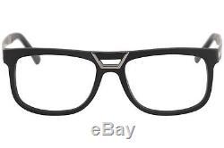 Lunettes De Vue Cazal Homme 6017 005 Monture Optique Jante Complète Noir / Argent, 55mm