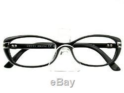 Lunettes De Vue Gucci Gg 3200 D28 Noir Argent Cadre Encadre Complète Italie 5216 140