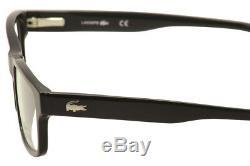 Lunettes De Vue Lacoste L2705 L / 2705 001 Cadre Optique Jante Complète Noir / Argent 53mm