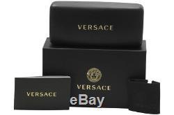 Lunettes De Vue Versace Pour Femmes 3245 5238 Cadre Optique Noir / Argenté 55mm