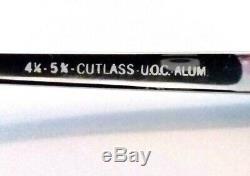 Lunettes De Vue Vintagemen's Horn Rimmed G-men Glasses Black & Silver Cutlass