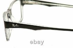 Lunettes Ray-ban Rb5245 5245 2034 Cadre Optique À Jante Pleine Rayban Noir 54mm