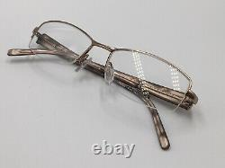Lunettes Silver Rodenstock 4704 Half Rim Lightweight Rectangular Size M Nouveau +