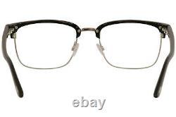 Lunettes Tom Ford Homme Tf5504 Tf/5504 005 Cadre Optique À Jante Pleine Noire 54mm
