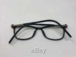 Marc Jacobs 53 D28 53-16-150 Argent Black Full Rim Lunettes Cadre Seulement Le45