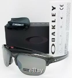 Nouveau Oakley Sliver Edge Gris Prizm Noir Authentique 9413-0365 Half Rim