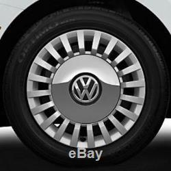 One 2012-2017 Volkswagen Beetle 17 Jante En Alliage Garniture En Plastique Bague # 5c0601157b Nouveau