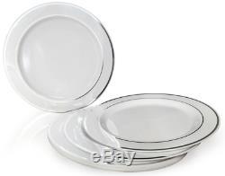 Pack De 120 Plaques Occasions, Jante En Plastique Jetable Poids Lourd Pour Noce