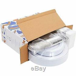 Plastique De Jante De Plateaux De L'argent 150pcs Avec Les Serviettes Jetables De Silverwarehand, 25